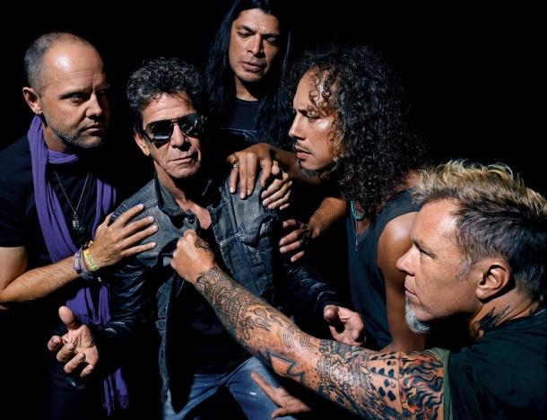 Lou Reed & Metallica 01