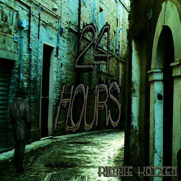 Richie Kotzen 24 hours CD cover