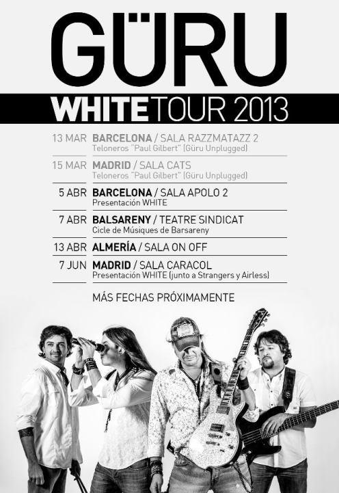 Güru promo concerts 2013
