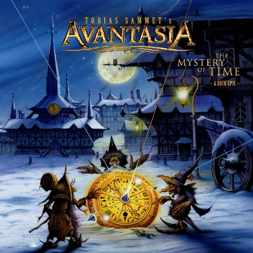 Avantasia mistery of time cd cover