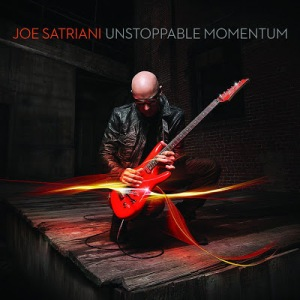 Joe Satriani Unstoppable momentum CD Cover