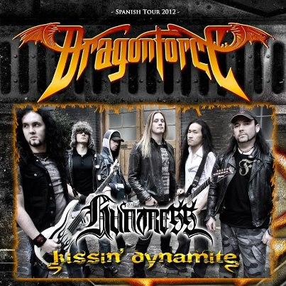 Dragonforce cartel tour