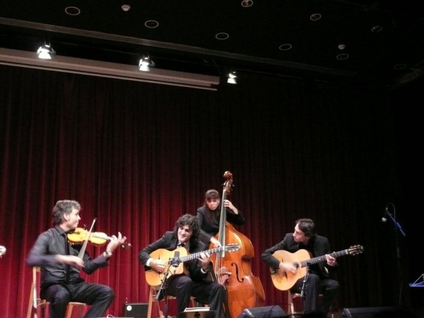 Albert Bello & Oriol Saña Experiment Festival Django L'H 2013 01