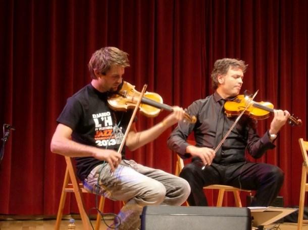 Albert Bello & Oriol Saña Experiment Festival Django L'H 2013 04