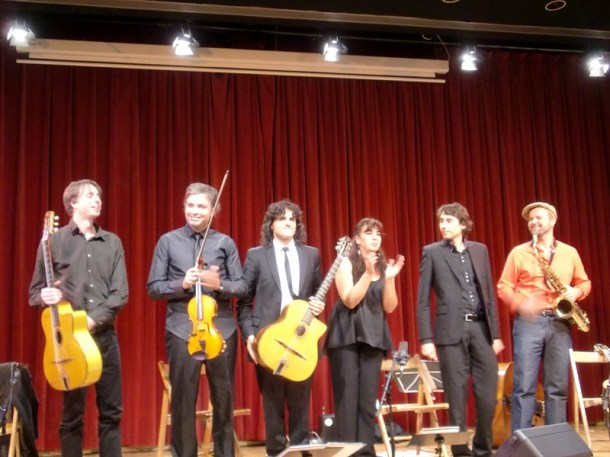 Albert Bello & Oriol Saña Experiment Festival Django L'H 2013 05