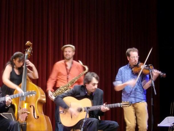 Albert Bello & Oriol Saña Experiment Festival Django L'H 2013 12