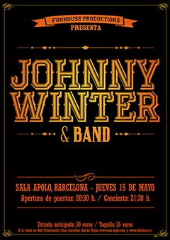 Johnny Winter 2014