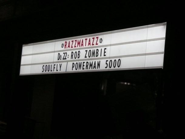 Rob Zombie BCN 2014 10