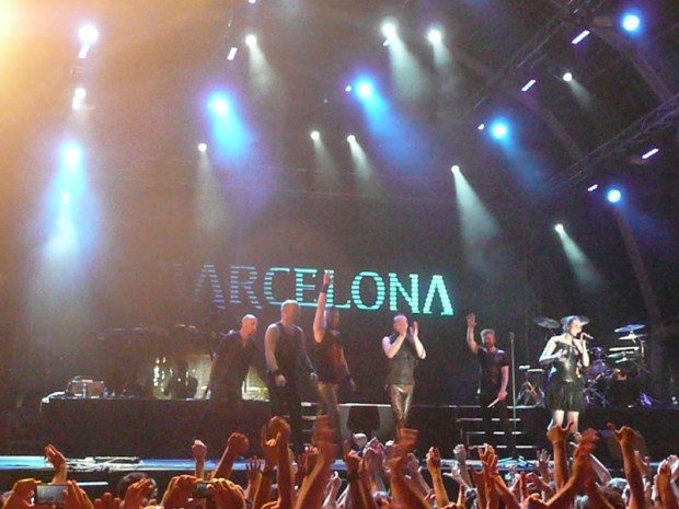Barcelona Metal Fest 2014 Within Temptation 10