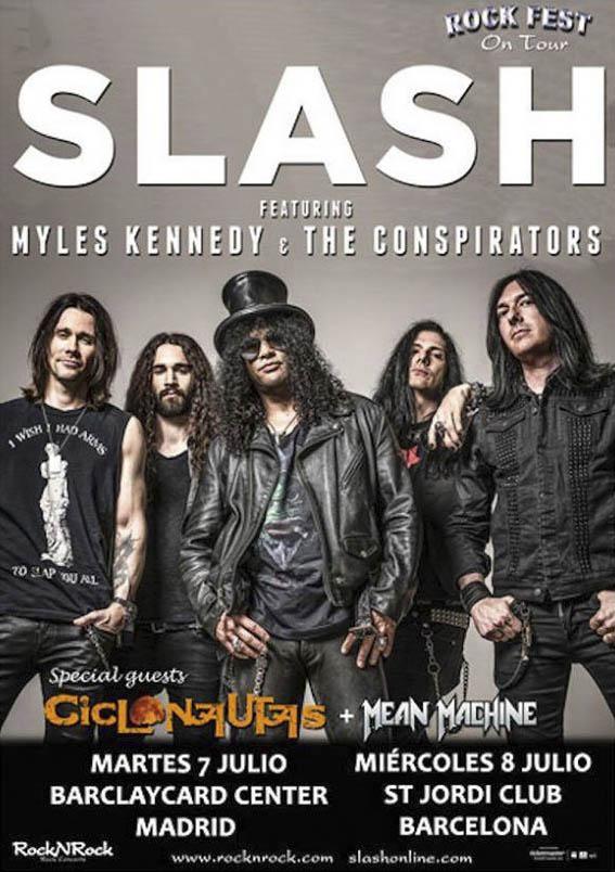 Slash Spain 2015