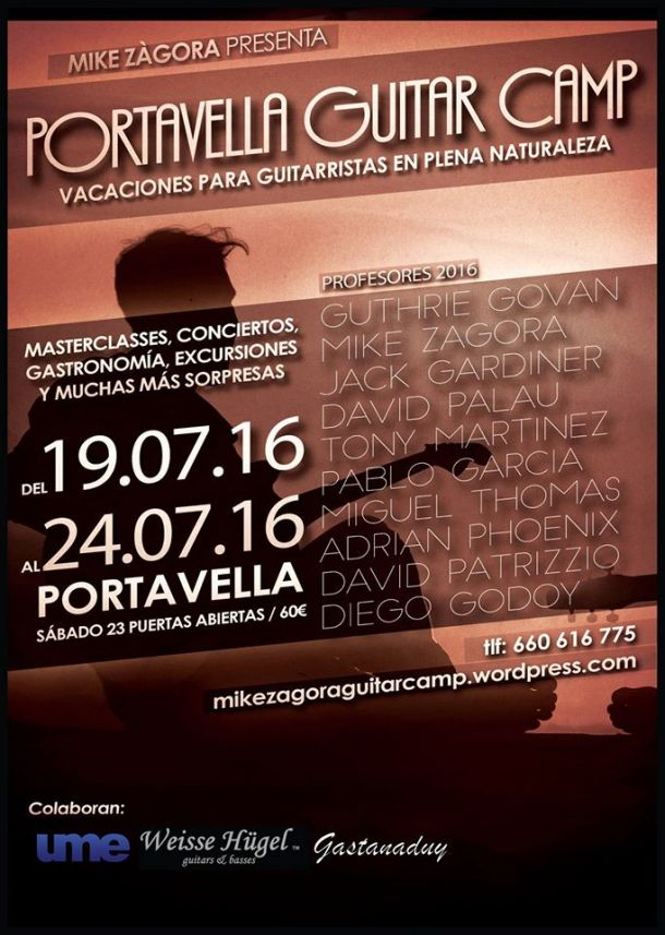 Portavella Guitar Camp 2016