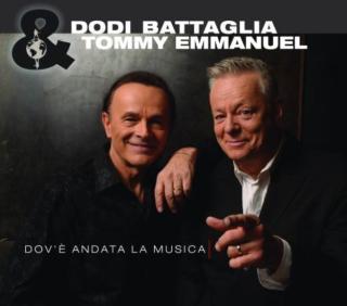 Tommy Emmanuel & Dodi Battaglia Dov'è andata la musica CD Cover