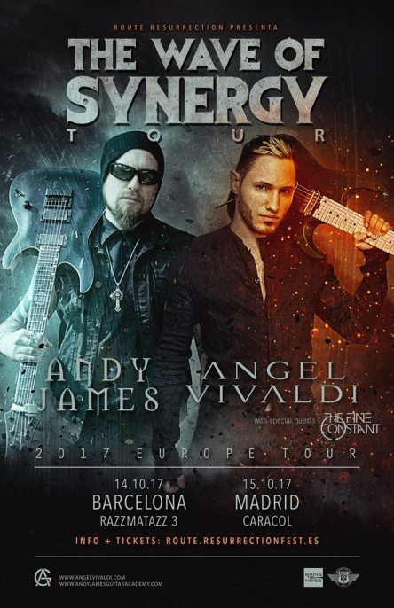 Andy James & Angel Vivaldi