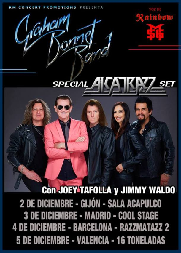 Graham Bonnet Band 2017
