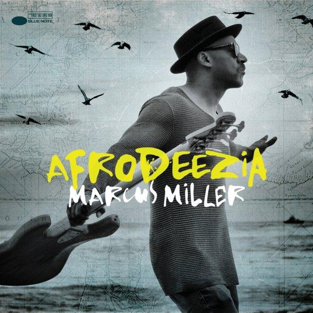 Marcus Miller Afrodeezia CD Cover