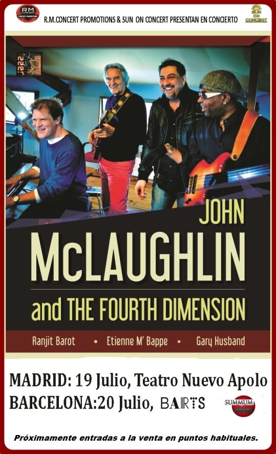 JOHN McLAUGHLIN 2016