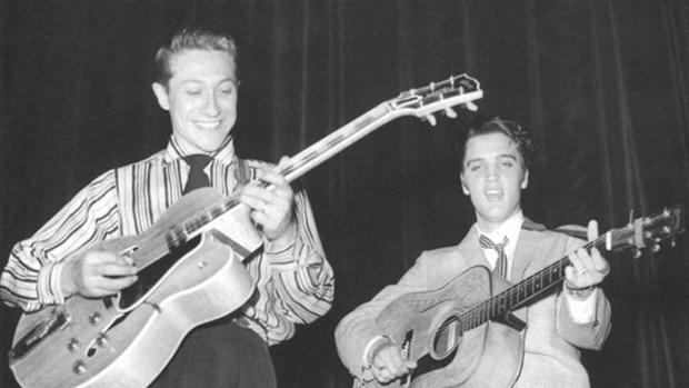 Scotty Moore & Elvis Presley