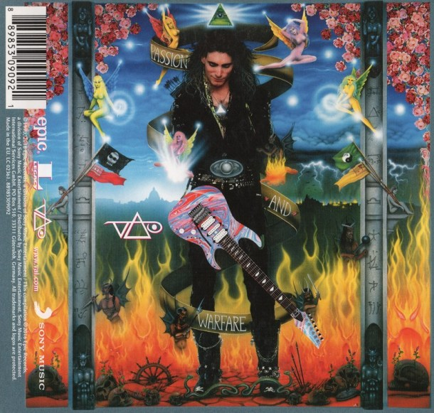 Steve Vai P&W 25 CD Cover