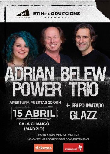 Adrian Belew Power Trio 2017