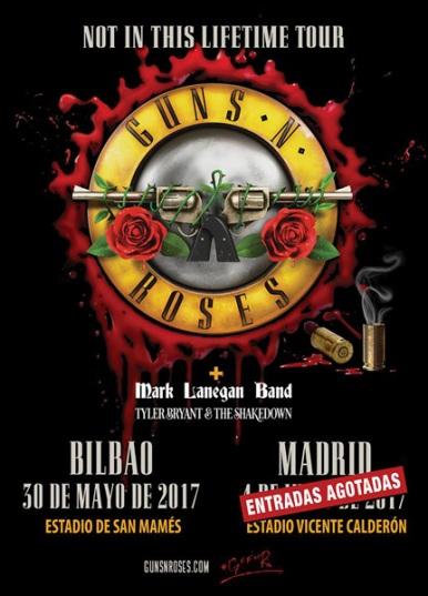 Guns & Roses 2017 España
