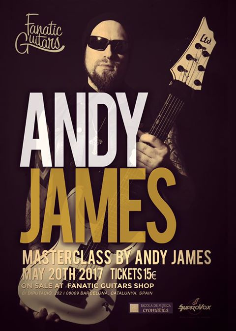 Andy James BCN Poster clinic