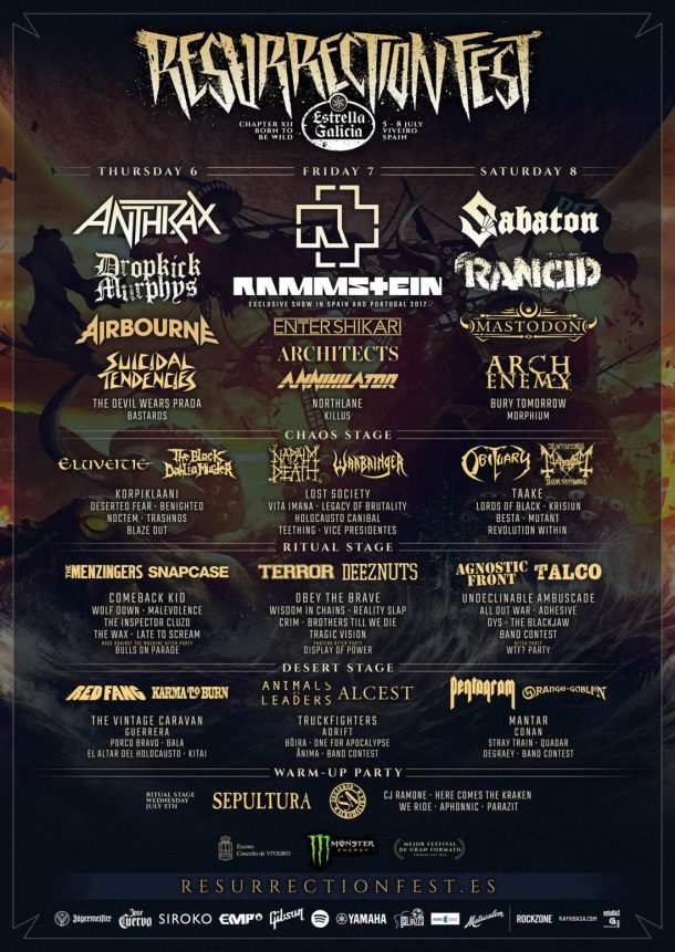 Resurrection Fest 2017 def
