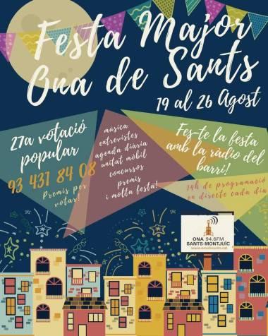 Festa Major Sants 2017