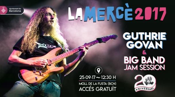 25-09-17-Festes-merce-2017-Guthrie-Govan-and-Big-Band-Jam-Session