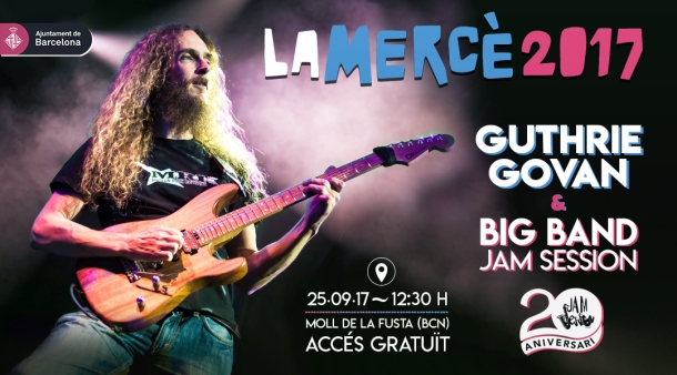 Guthrie Govan & Big Band Jam Session 2013