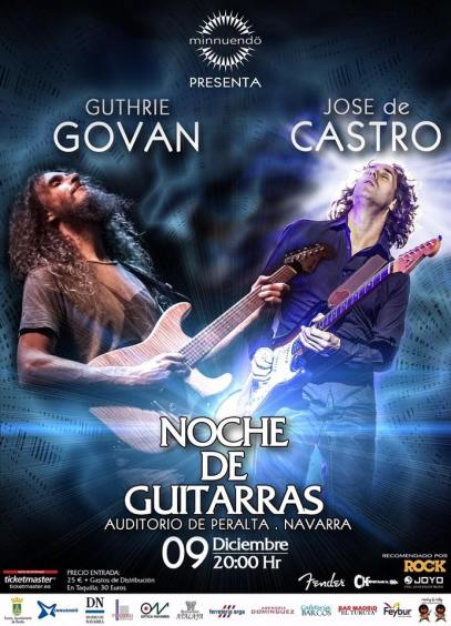Jose de Castro & Guthrie Govan