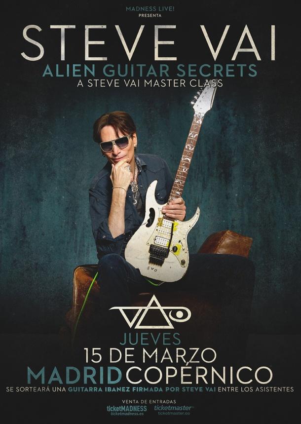 Steve Vai Alien Masterclasses 2018