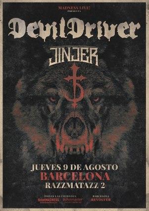 DevilDriver + Jinjer 2018