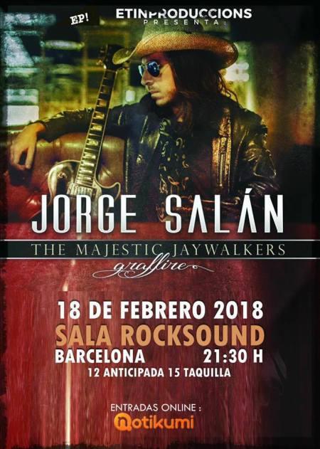 Jorge Salan BCN 2018 cartel