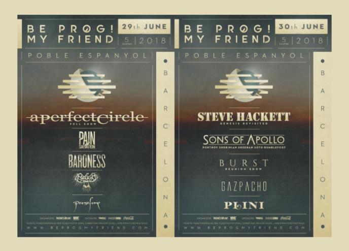 Be Prog 2018 distribucion por dias