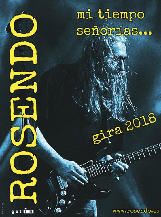 Gira despedida Rosendo 2018