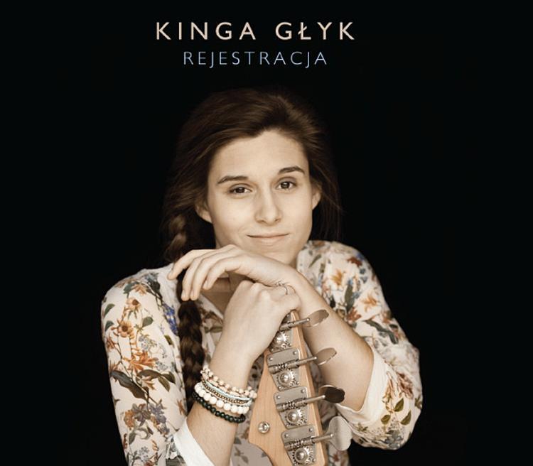 KINGA GLYK Rejestracja CD Cover