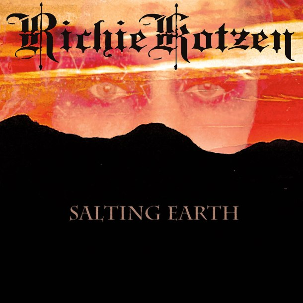 RICHIE KOTZEN Salting Earth CD Cover