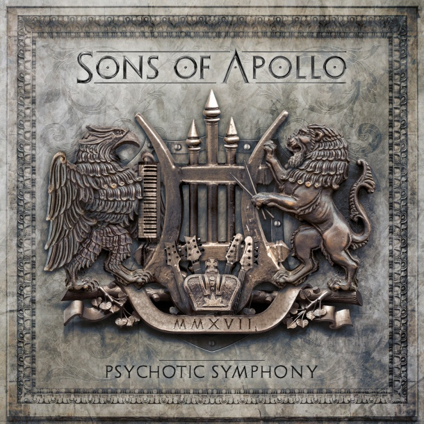 SOA - Psychotic symphony CD Cover