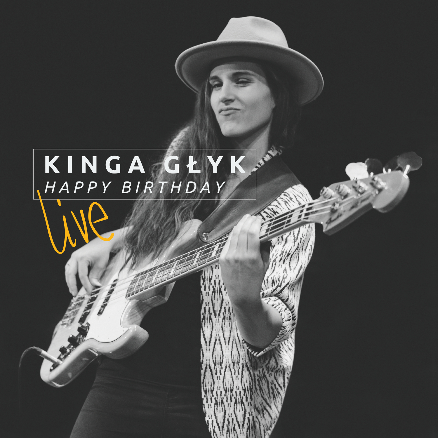 Happy Birthday Live CD Cover