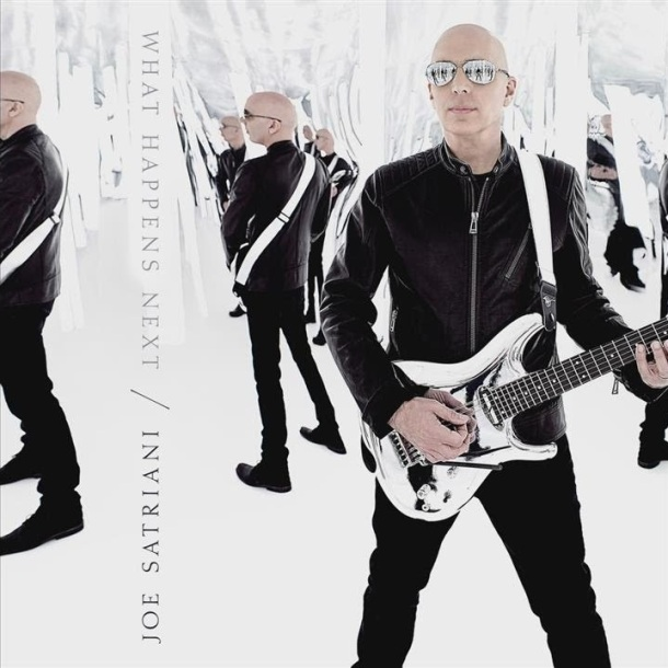 Joe Satriani what happens next cd cover