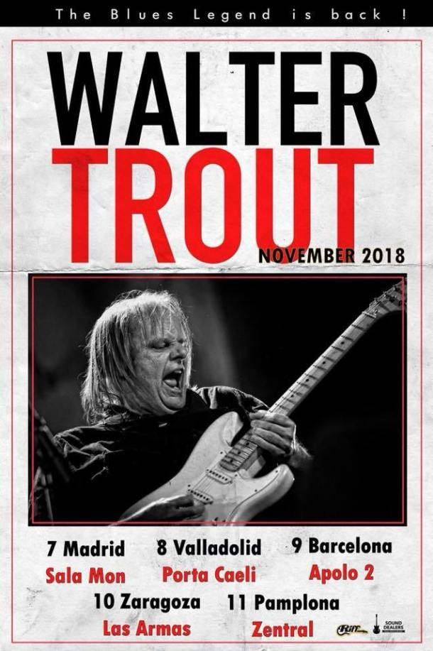 Walter Trout Spain 2018