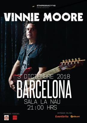 VINNIE MOORE BCN 2018