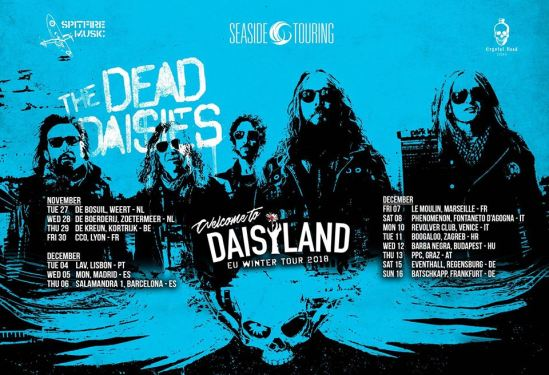 The Dead Daisies Winter Tour