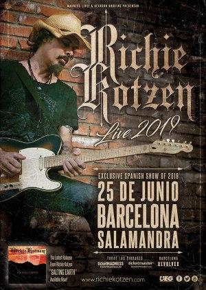 richie kotzen spanish tour 2019