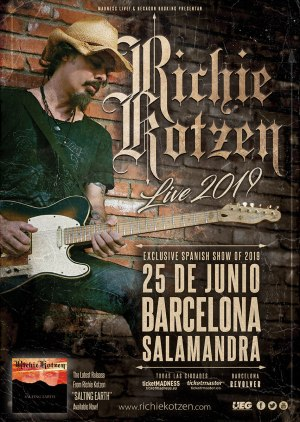 richie kotzen spanish tour 2019
