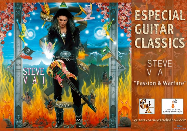 9_25-02-19 Temporada #21 Especial Guitar Classics Steve Vai Passion & Warfare