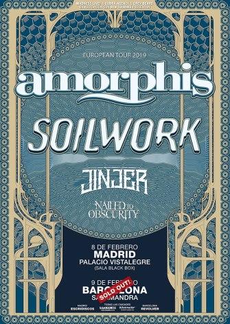 AMORPHIS - SOILWORK