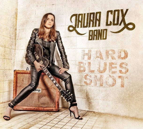 Laura Cox Band Hard shot blues CD Cover