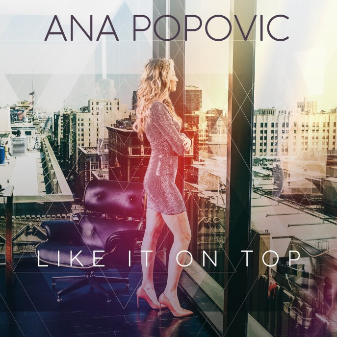 Ana Popovic Like it on top CD cover
