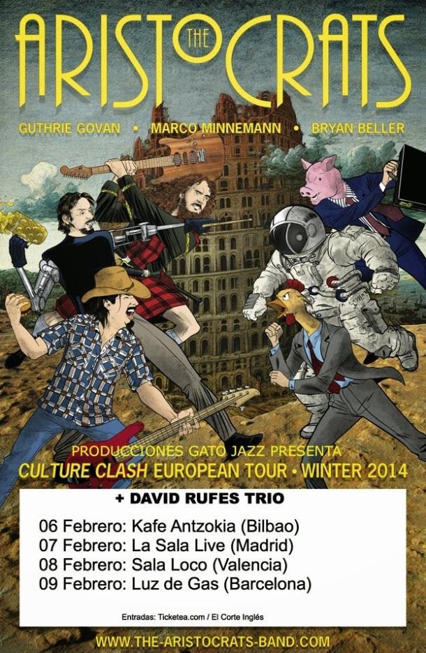 Aristocrats promo tour español